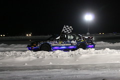 2.11.17 M&M Ice Breakers - 6 cylinder checkered flag 96 Zach Demler (royal_broil) Tags: zachdemler iceracing mmicebreakers checkeredflag