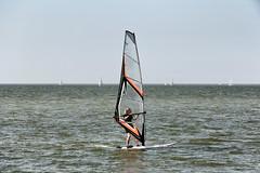 Windsurfing in Ameland Netherlands (lluunnoo) Tags: friesland water windsurfing sea netherlands ameland watersports wind
