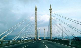 Across Penang Bridge