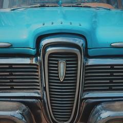 Edsel Villager (absolutman) Tags: blue ford square wagon edsel grill chrome squareformat villager ferndalemi woodwarddreamcruise edselvillager iphoneography instagramapp vscocam sonya6000