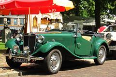 1953 MG TD two-seater (rvandermaar) Tags: mg twoseater 1953 td mgtd sidecode3 39mj83