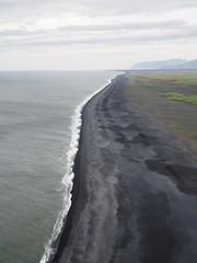 Black sand beach, Vik!