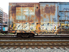 (gordon gekkoh) Tags: graffiti dzyer freight tfc heist