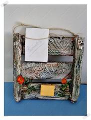 Porta Chaves e Recados (CriarEreciclarArte) Tags: portachaves madeira portarecados rústica scrapdecor