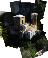 erice, sicilia (Jul Bona) Tags: italy castle monument pano sicily panography panograph