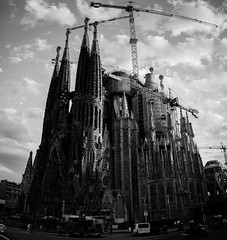 Sagrada Familia (Dmitry Litosh) Tags: barcelona familia sagrada
