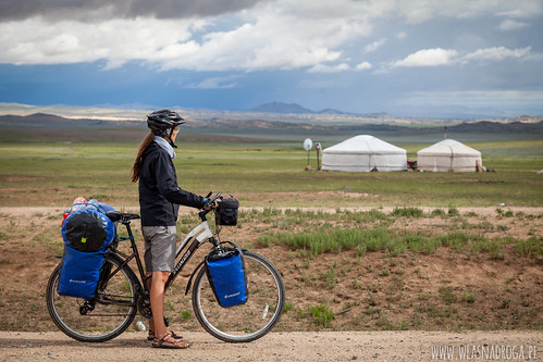 Mongolskie krajobrazy