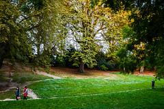 Evening in the Park. Paris, Buttes Chaumont, September 2015 (Lepidoptorologic beauty*) Tags: park paris green 35mm 50mm evening pentax september parc butteschaumont k5 lightroom buttes kmount pentaxk lr5 pentaxk5 intothepark da35al lightroom5 smcpentaxda35mm24al k5ii pentaxk5ii