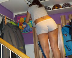 sexy mom (Tina-mom of two) Tags: woman hot sexy ass up mom wife downblouse sexywife sexymom