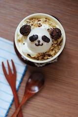 panda (K _ _ _ _) Tags: sweet pudding kawaii cutefood agaragar