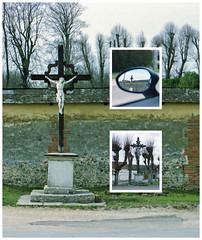 """(""""Que la bête meure"""") Tags: film analog crucifix 135 manualfocus croix argentique nikonfa kodakportra160 fixedfocal nikkor50mm14ai focalefixe"""