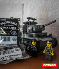 Brickmania track links (kr1minal) Tags: city castle lego space wwii pirate worldwar panzer moc