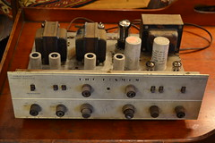 """THE FISHER X-100 INTEGRATED AMPLIFIER, NO CASE. • <a style=""""font-size:0.8em;"""" href=""""http://www.flickr.com/photos/51721355@N02/22052434241/"""" target=""""_blank"""">View on Flickr</a>"""