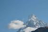 Morning Mountains (Mabacam) Tags: nepal cloud foothills snow mountains rock sunrise trekking walking hiking peaks himalaya annapurna fishtail 2015 holymountain machhapuchhre ghandruk sacredmountain ghandrung annapurnahimal annapurnafoothills