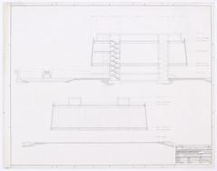 Coupe longitudinale du pavillon du Qubec - P193, S1 (Bibliothque et Archives nationales du Qubec) Tags: expo des qubec terre 67 hommes pavillon