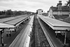 High Barnet  Station (cybertect) Tags: england london unitedkingdom tube railway gb londonunderground barnet northernline highbarnet undergroundstation sonya7