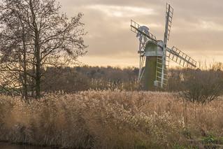 Turf Fen windmill, How Hill, Norfolk, UK (3)
