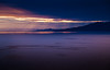 Summer Night - Gulf of Alaska (byron bauer) Tags: ocean sunset sunlight mountains water alaska clouds landscape gulf rays godlight snowcaps byronbauer