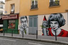 Rue Androet - Paris (France) (Meteorry) Tags: paris france wall graffiti mural europe december ledefrance montmartre grocery mur idf amlie audreytautou lucien jeanpierrejeunet zazou 2015 lefabuleuxdestindamliepoulain meteorry fruitsetlgumes jameldebbouze ruedestroisfrres maisoncollignon guillaumelaurant rueandroet amrliepoulain