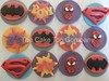 Superheros Cupcake Toppers by The Cake Top Company (thecaketopcompany) Tags: uk cake cupcakes spiderman superman superhero batman toppers esty caketoppers superherocupcaketoppers thecaketopcompany