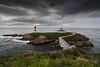 Isla Pancha. Ribadeo (MigueR) Tags: españa faro mar nikon paisaje tokina galicia nubes lugo ribadeo d80 islapancha