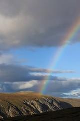 Rainbow over Gleann Beag