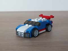 LEGO 31027 LEGO CREATOR 3 IN 1 2015 Blue Racer (1/3) (Totobricks) Tags: car lego review racing howto instructions creator build 3in1 2015 blueracer totobricks lego31027