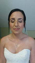 """Bride hair and make-up • <a style=""""font-size:0.8em;"""" href=""""http://www.flickr.com/photos/36560483@N04/23813766131/"""" target=""""_blank"""">View on Flickr</a>"""