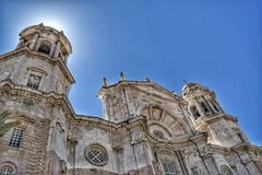Catedral de Cádiz (csmfoto15) Tags: cádiz fachada catedral sol contraluz viajes españa pueblosbonitosdeespaña ciudad city spain churches iglesia edificio edifice cielo sun nikon nikonistas europa europe sur viajar turismo tourism