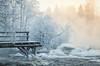 Winter wonderland -22 °C (L.Matero) Tags: kuusankoski kuusa laukaa winter wonderland water smoke fog pier trees sunset snow canon 6d tamron 2470 f28 landscape beautiful cold frost finnish finland suomi
