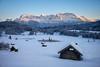 Frozen Wagenbrüchsee (Chris Buhr) Tags: wagenbrüchsee geroldsee gerold bayern bavaria landschaft landscape winterlandschaft outdoor sunset sonnenuntergang see alps berge mountains alpen leica chris buhr winter