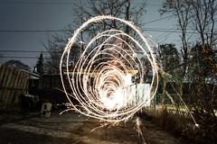 #FlickrFriday -- Long Exposure -- Vortex (bboneyardd) Tags: flickrfriday longexposure sparkler nikon d5200 kit lens
