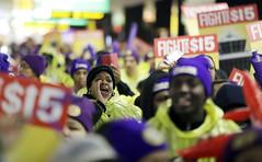 Newark Minimum Wage Rally (mitbbsnews21) Tags: newark nj usa