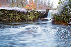 Moore State Park (Brian M Hale) Tags: moore state park ma mass massachusetts paxton outside outdoors nature water waterfall ice snow swirl long exposure longexposure 6d canon winter brian hale brianhalephoto