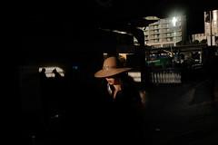 . (ferriswhiskey) Tags: sydney street streetphotography ferriswhiskey australia city light colour color shadow 35mm xpro2 fujifilm hat woman circularquay