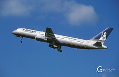G-BYAS Boeing 757 204 (Gary J Morris) Tags: eggd brs by bal bristol airport lulsgate garymorris airlines boeing 757 27238 gbyas 204 britannia airways 05052000 airline
