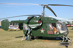 Kamov KA-26 505 (cn 7001505) @ Kecskemet 2008 (Fabke - Aviation Photography) Tags: kecskemet hungary 2008 505 grey bluesky aviation helicopter preserved
