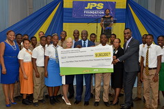 Jamaica Public Service (JPS) Foundation to the Overseas Examinations Commission (OEC