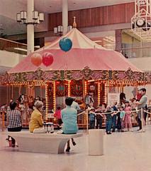South Coast Plaza, 1960s (Orange County Archives) Tags: orangecountyarchives orangecounty orangecountyhistory history historical california southerncalifornia southcoastplaza segerstrom malls shoppingcenters costamesa carousel merrygoround