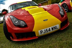 14th August 2010 Old Warden (rob  68) Tags: tvr sagaris 2004 2006 pj54 wnl owners club bsg big southern gathering blackpool rocket 14th august 2010 old warden