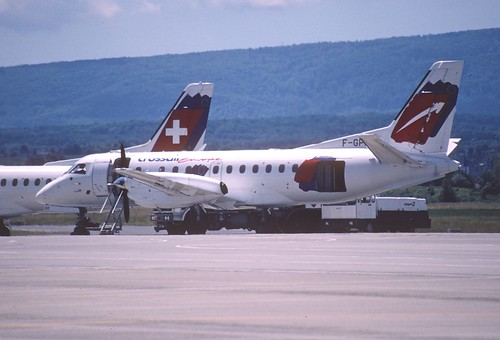 95ao - Crossair Europe Saab 340B; F-GPKD@BSL;01.06.2000