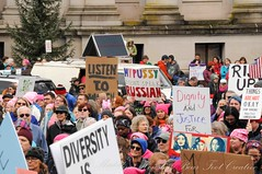 WomensMarchOlympia2016-6214LR (Madeline McIntire Houston) Tags: clothing colorphotograph colorful crowd crowded crowding demonstrating demonstration event events face group hat holding olympia people protestsign pussyhat serious sign thurstoncounty washingtonstate washingtonstatecapitolcampus winter womensmarch protest