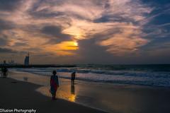 Sunset (KASHIF QAISER) Tags: burjalarab sunset beach clouds sky outdoor nikond5200