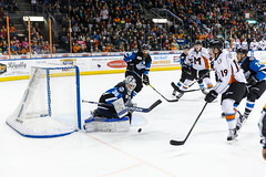 "Missouri Mavericks vs. Wichita Thunder, January 7, 2017, Silverstein Eye Centers Arena, Independence, Missouri.  Photo: John Howe / Howe Creative Photography • <a style=""font-size:0.8em;"" href=""http://www.flickr.com/photos/134016632@N02/32210090806/"" target=""_blank"">View on Flickr</a>"