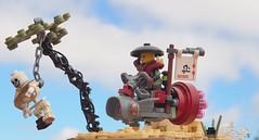 深 Speeder (W. Navarre) Tags: speeder lego tree skeleton minifig minifigure japanese