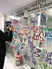 MTN Colors stand at Creative World 2017. (PressOne) Tags: graffiti tags 2017 germany frankfurt creativeworld pressone mtncolors doerak toilet spraypaint caps smile