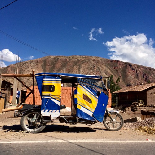 Sacred Valley moto-taxi Peru