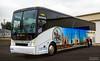 Left front angled profile of Vandalia Bus Lines' newest coach with wrap. (VR Photographer) Tags: caseyville illinois unitedstates vandaliabuslinesinc busdriverbrucecom brucerobertson canon6d charterbus wrap stlouis stlouisarch stlouiszoo buschstadium travel vacation tourism diamondtours motorcoach