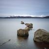 The Rocks (strachcall) Tags: lochlomond square scotland water 500x500 longexposure squareformat landscape rocks milarrochybay