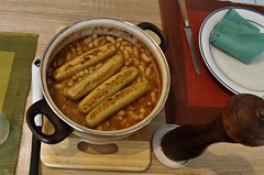 """Cassoulet"" vegan... (Thank you on Explore). (Gérard Farenc (slowly back) !) Tags: cassoulet haricot saucisse sausages beans food recipe guisine kitchen table vegan vegetarian végétarien vegetal antispéciste nourriture"